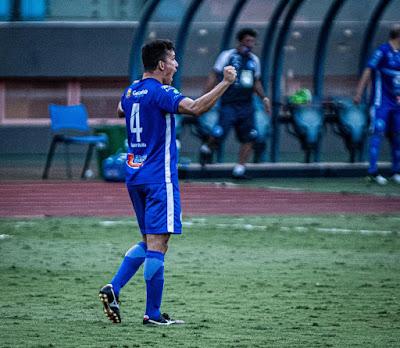 Zagueiro Márcio Luiz é mais um jogador que renovou com o Goianésia
