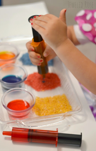 Color Mixing Lab with MAGIC Rice