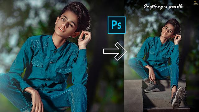 Portrait Photo Editing Photoshop Tutorial  Easy Technique For Portrait Retouching  Colour Tonning