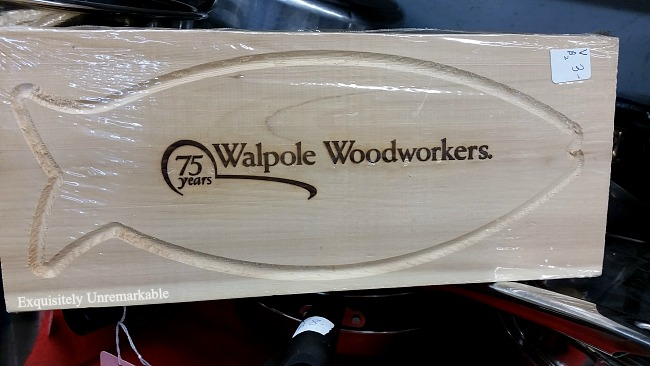 Walpole Woodworkers Fish Grillers Cutting Board
