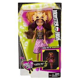 MH Transforming Ghouls Clawdeen Wolf Doll