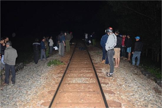 Quảng Ngãi Tai nạn đường sắt khiến một thanh niên tử vong