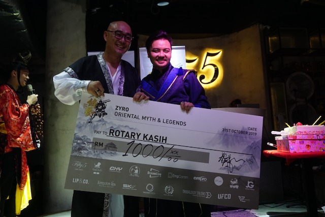 Donations and proceeds to Rotary Kasih