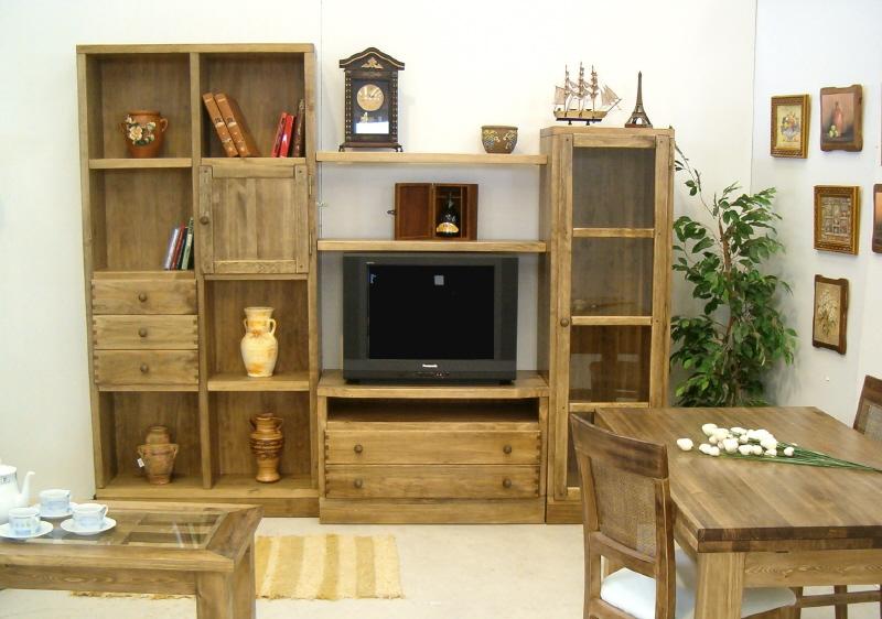 Muebles arcecoll rustiko y provenzal - Muebles de pino sin tratar ...