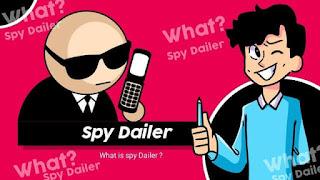 spy dialed