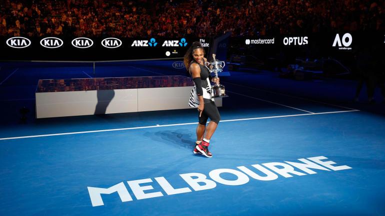 Australian Open 2019: Serena Williams loses six straight games in finalset to drop vs. Karolina Pliskova