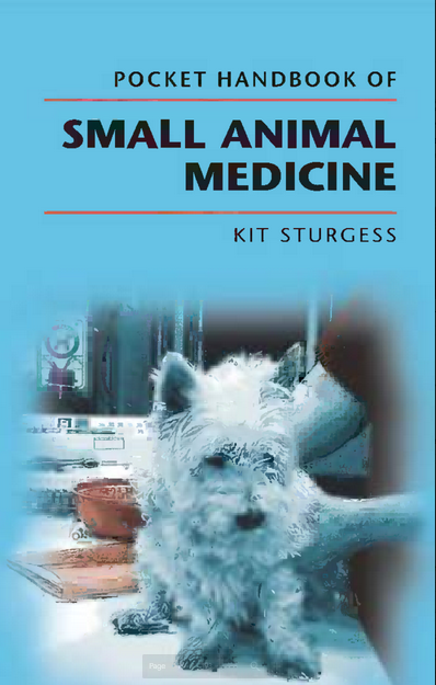 Pocket handbook of small animal medicine  - WWW.VETBOOKSTORE.COM
