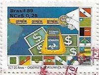 Selo Caderneta de Poupança Postal