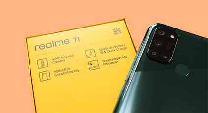 Review: Full Spesifikasi dan Harga  Realme 7i Dengan RAM 8GB, Kamera 64MP
