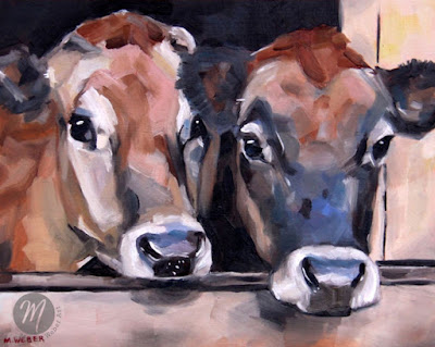 jack-and-rose-cow-painting-merrill-weber