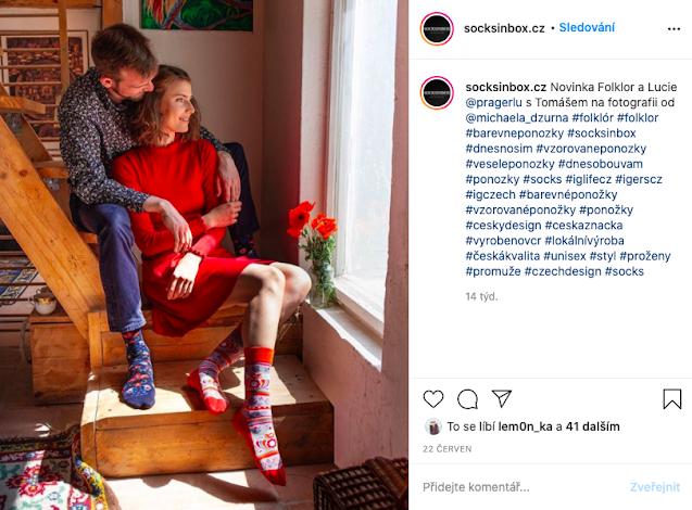 Ponožky vyrobené v ČESKU A NA SLOVENSKU