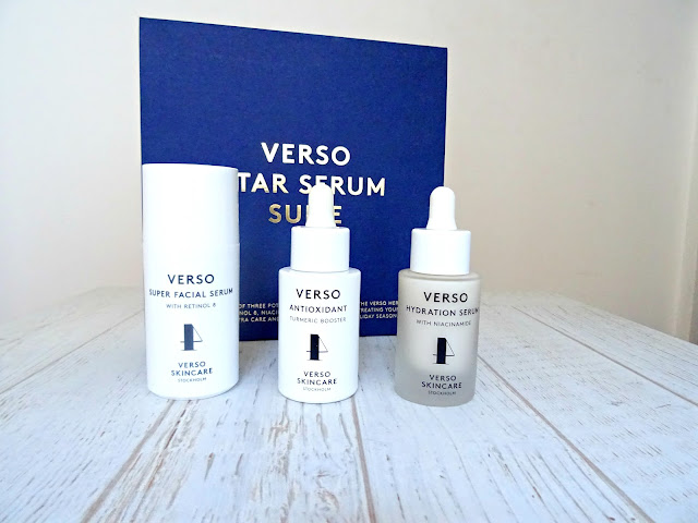 Verso Star Serum Suite serums