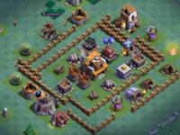 Desain Base Clash Of Clans Aula Tukang Level 5 Terbaik
