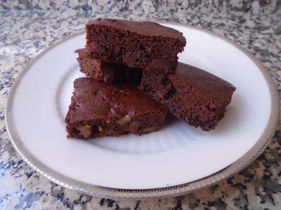Brownie de alubias rojas y chocolate