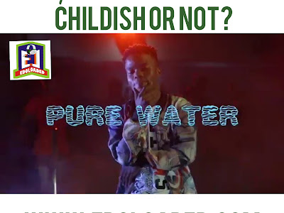 EL Question of the day. Do you think Pure Water by Lyta is Childish or Not?