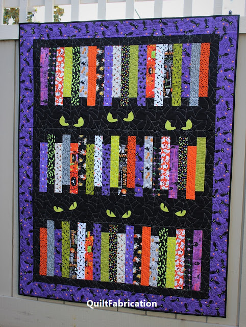 Fright Night quilt by QuiltFabrication