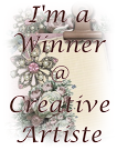 I'm a Winner of Challenge 31 at Creative Artiste blog