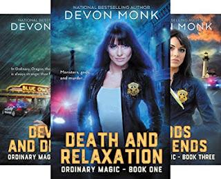 Ordinary Magic Series by Devon Monk