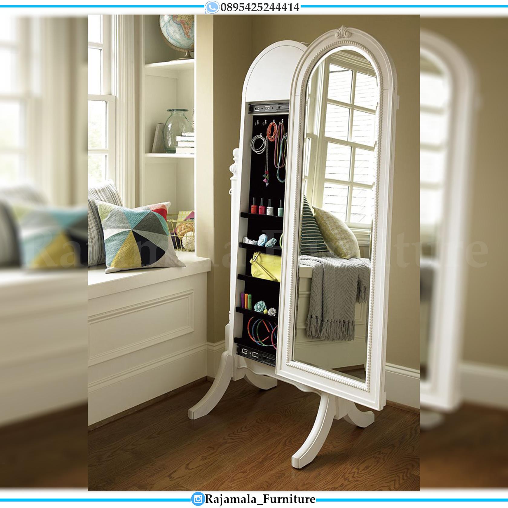 Stand Mirror Minimalis Make Up Set Cermin Rias Berdiri Desain Terbaru RM-0052