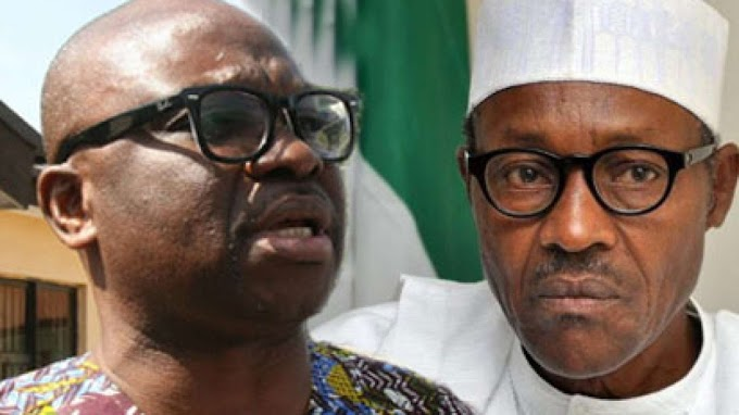 Stop complaining, your time almost up, Fayose tells Buhari