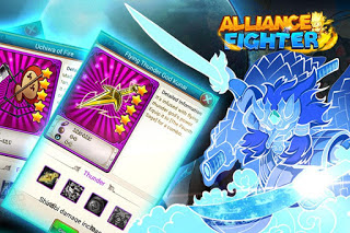 Download Alliance Fighter v1.2 Mod Apk Unlimited Card for Android Update Terbaru