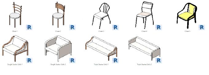 Simple Furniture For Revit || Kriyetive