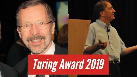 The Turing Award 2019 was awarded for computer graphics.