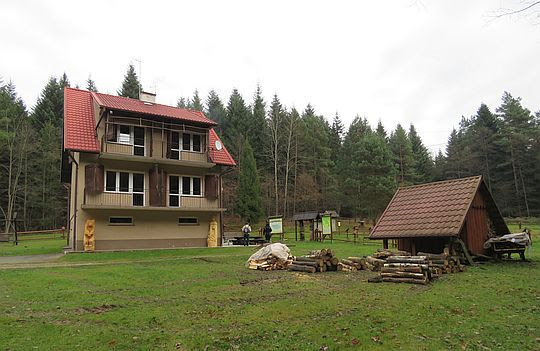 Ośrodek Edukacji Ekologicznej w Polichtach.