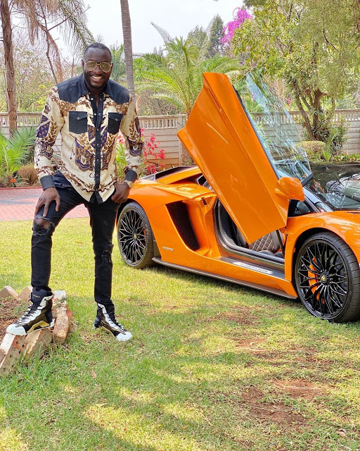 Zimbabwean Billionaire Makes Video In Rolls Royce Few Minutes Before His Fatal Car Crash