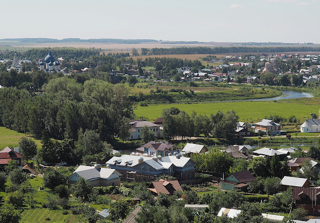 Суздаль – вид с колокольни (Suzdal – view from the bell tower)