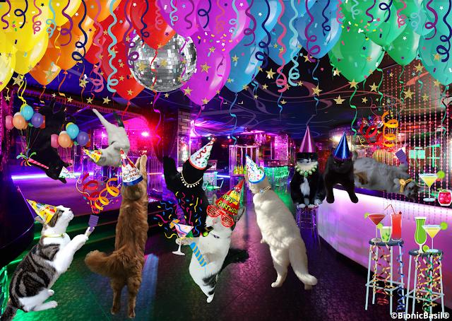 Melvyn's Birthday Rave  ©BionicBasil® The Nip Nirvirna Lounge