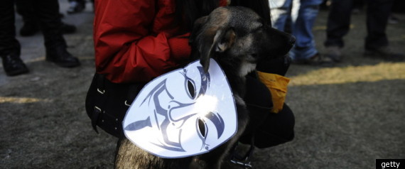Anonymous claims attacking Greek official websites