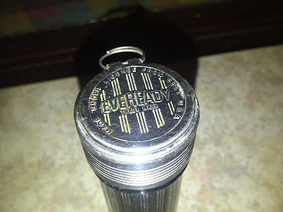 Lampu Senter Lawas EVEREADY Made In USA