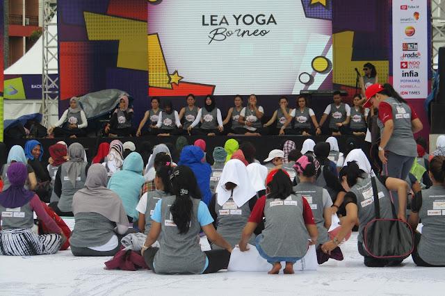 Yoga Festival 2018 Banjarmasin : Segar dan Semangat Beraksi Bersama Kiranti