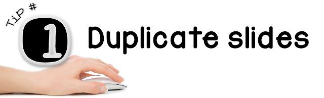 powerpoint tutorial duplicate slides