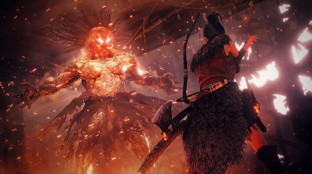 Nioh 2 enfrentamiento yokai