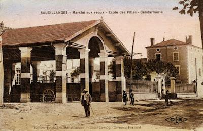 CPA Sauxillanges, 63
