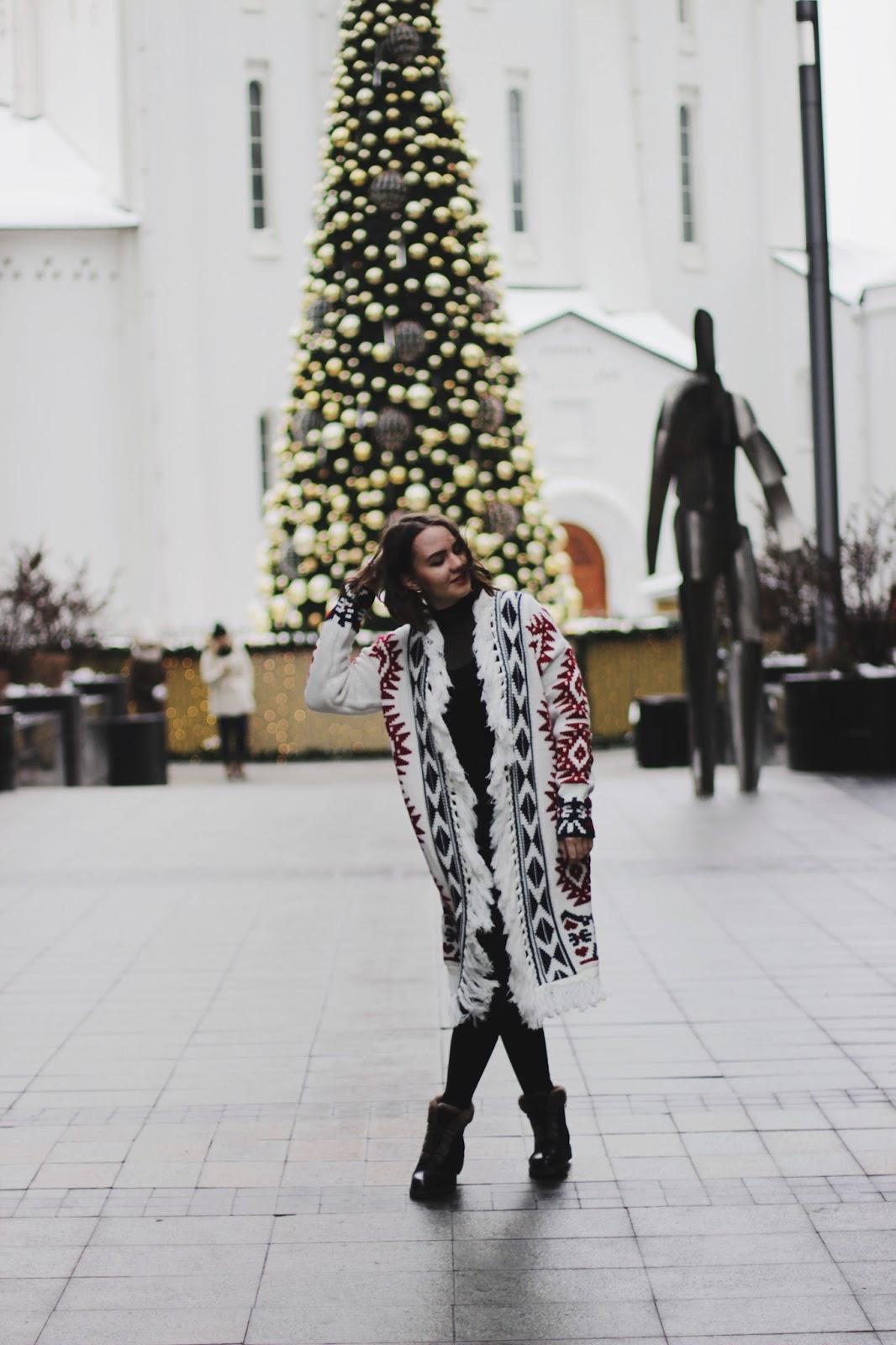 Fashion Blogger| Tribal Print Cardigan