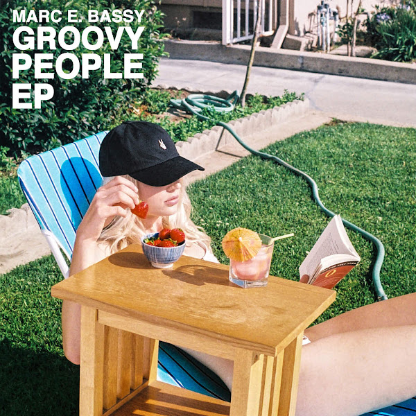 Marc E. Bassy - Groovy People - EP Cover