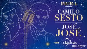 Concierto tributo a Camilo Sesto y José José | Teatro Colon