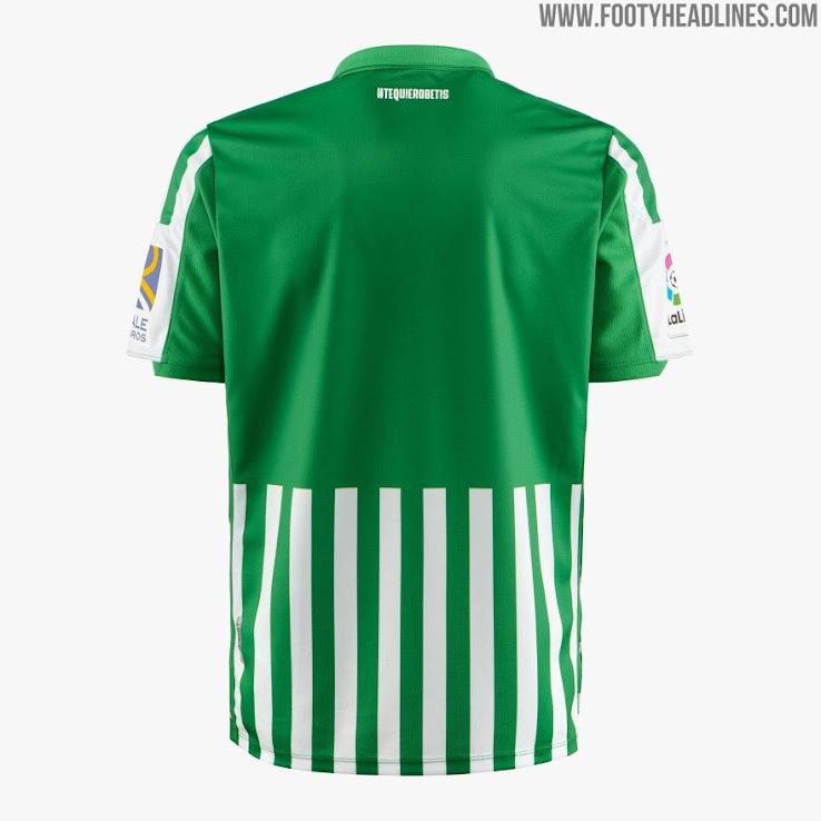 Betis 19 20 Home Kit Released Footy Headlines