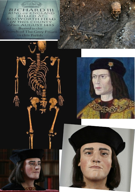 The discovery of King Richard III in cold case style