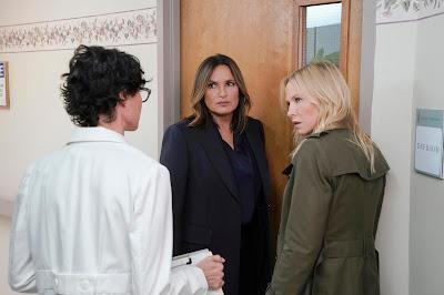 Cena do 8º episódio da 21ª temporada de Law & Order: SVU (Divulgação: Universal TV)