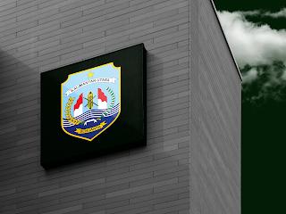 desain papan nama logo provinsi kalimantan utara - kanalmu