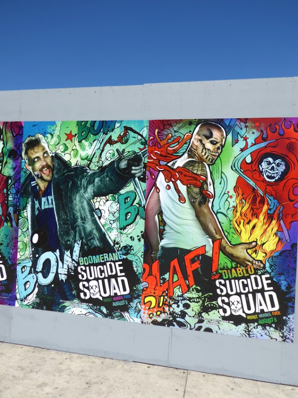 Suicide Squad movie posters
