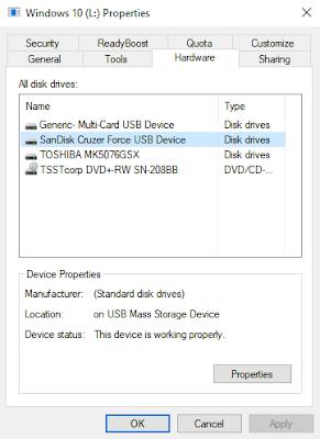 USB Data Transfer Speed