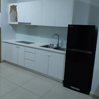bếp chung cư an gia star 2 phòng ngủ cho thuê