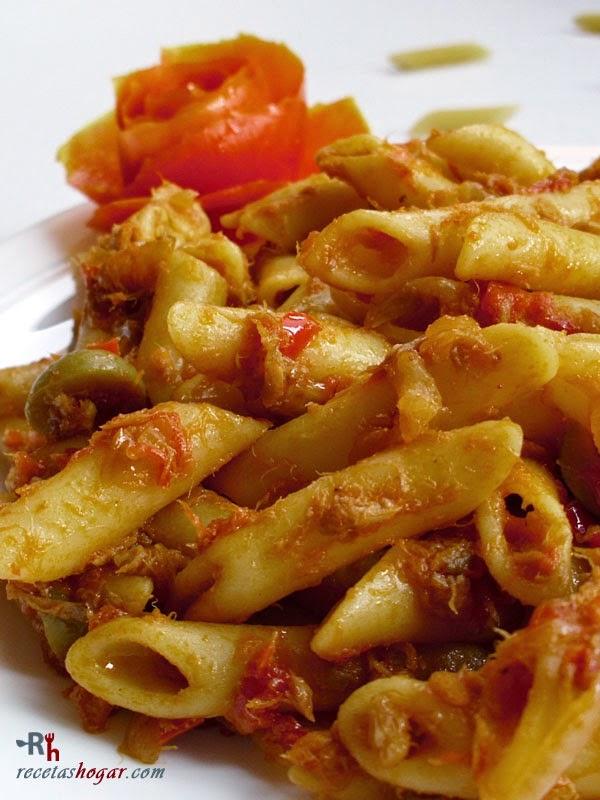 Macarrones Con Atún Receta De Cocina Casera