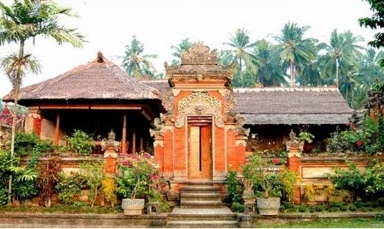 umma.yii :): Provinsi Bali - Rumah Adat Gapura Candi Bentar