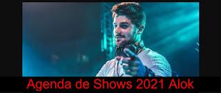 Agenda de Shows 2021 Alok Próximos Shows Cidades, Locais e Ingressos